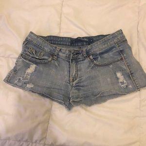 Size 9 Anchor Blue Jean Shorts